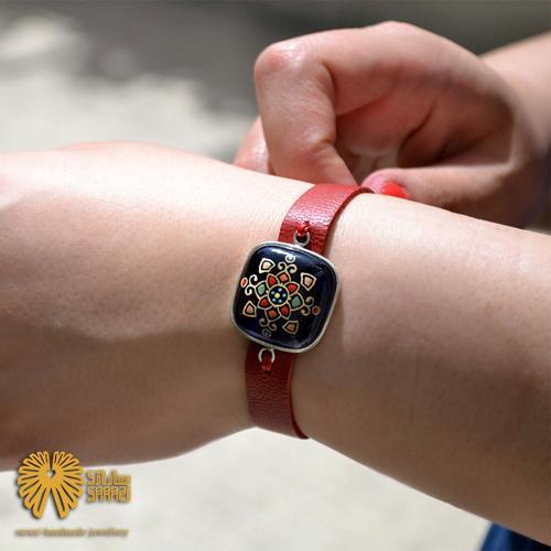 دستبند زنانه طرح دل آرا