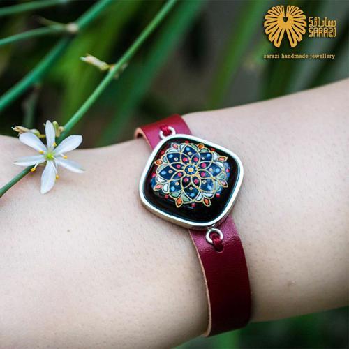 دستبند زنانه طرح بهار