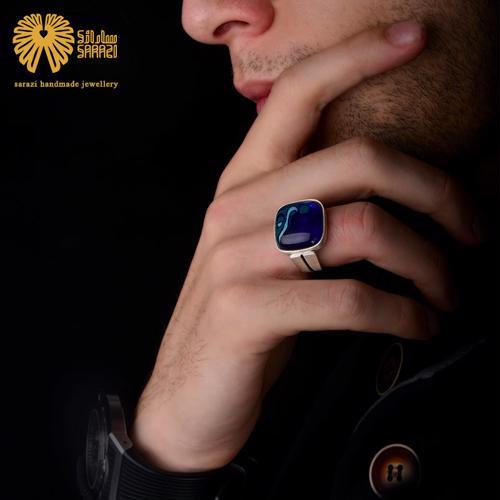 انگشتر مردانه طرح پارسی