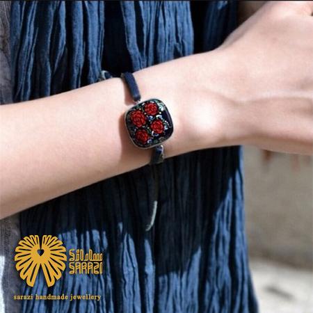 دستبند زنانه طرح رز