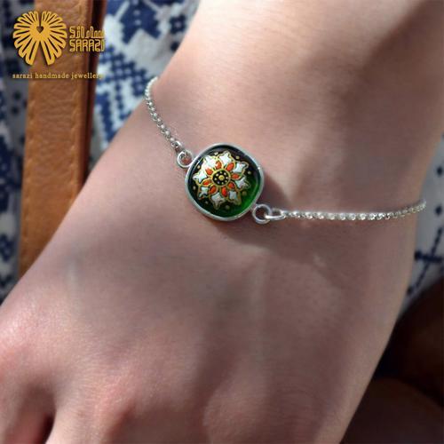 دستبند زنانه طرح مهردخت