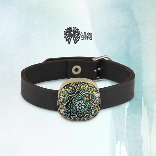 دستبند زنانه طرح هزار گل