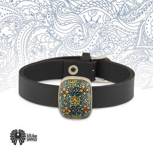 دستبند زنانه طرح شمسه و چهارلنگه