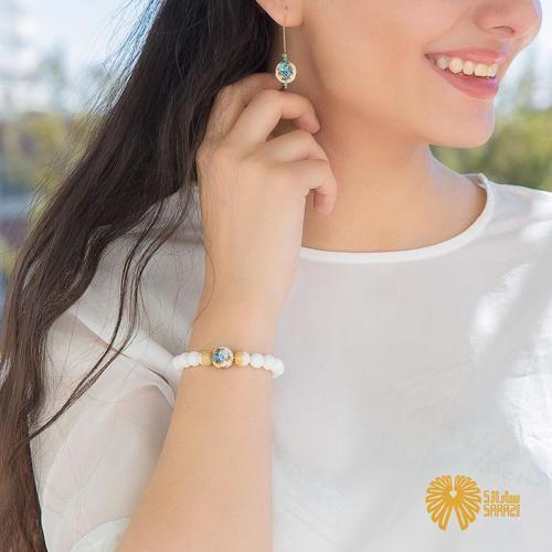 دستبند زنانه طرح سپیدان