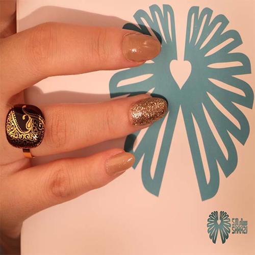 انگشتر زنانه طرح توران