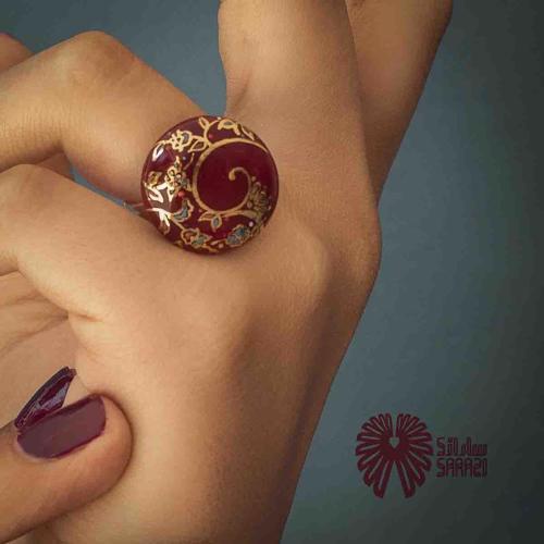 انگشتر زنانه طرح زرین ماه